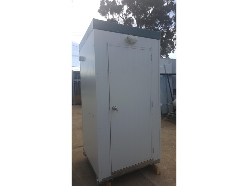 e i group portables 1.2m x 1.2m sewer connect portable toilet 411168 001