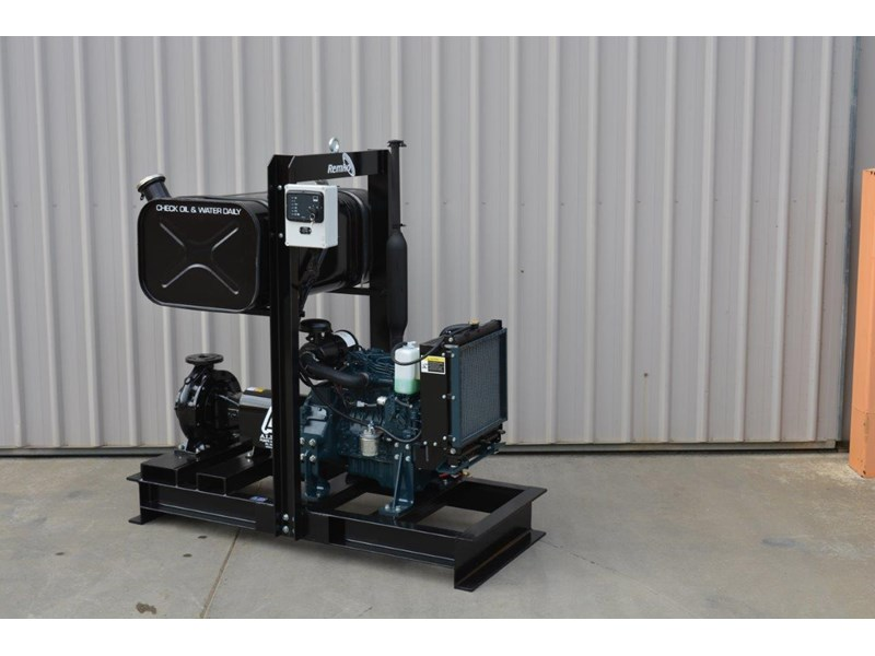 REMKO PUMP WITH KUBOTA ENGINE, PRESSURE IRRIGATION PUMP PACKAGE for sale