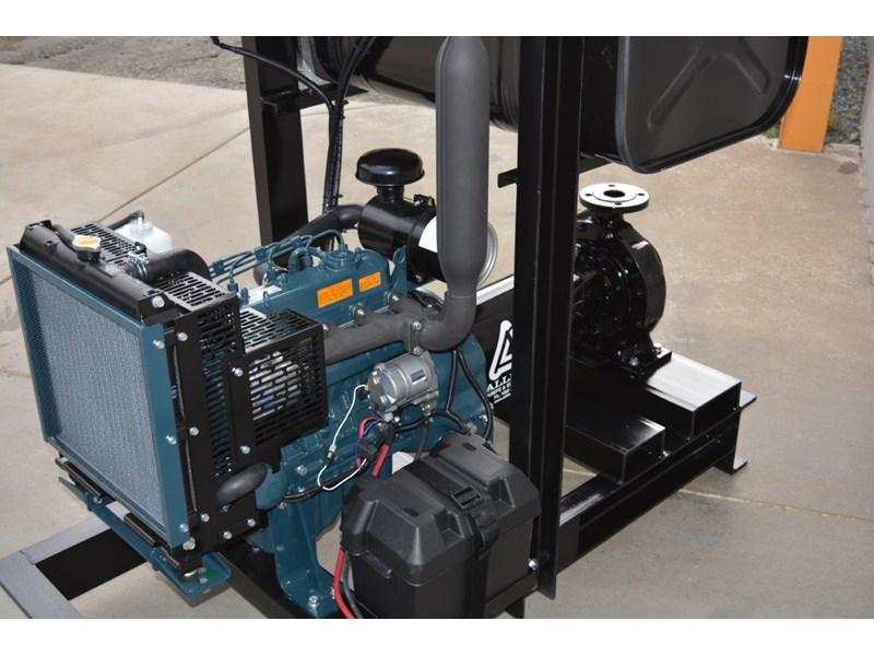 REMKO PUMP WITH KUBOTA ENGINE, PRESSURE IRRIGATION PUMP PACKAGE for sale