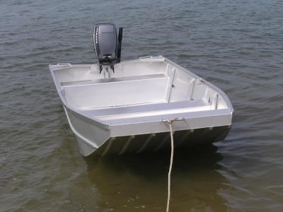 aquamaster 2.4 flat bottom punt (hull only) 412490 001
