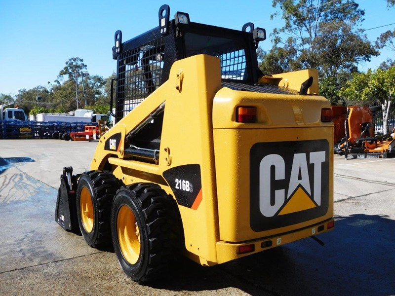 caterpillar #2229 216b.3 cat 216.b3 skid steer loader [47 hp][demo machine with only 172.6 hours] [machcat] 413736 006