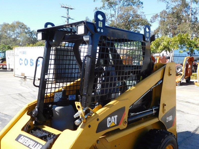 caterpillar #2229 216b.3 cat 216.b3 skid steer loader [47 hp][demo machine with only 172.6 hours] [machcat] 413736 013