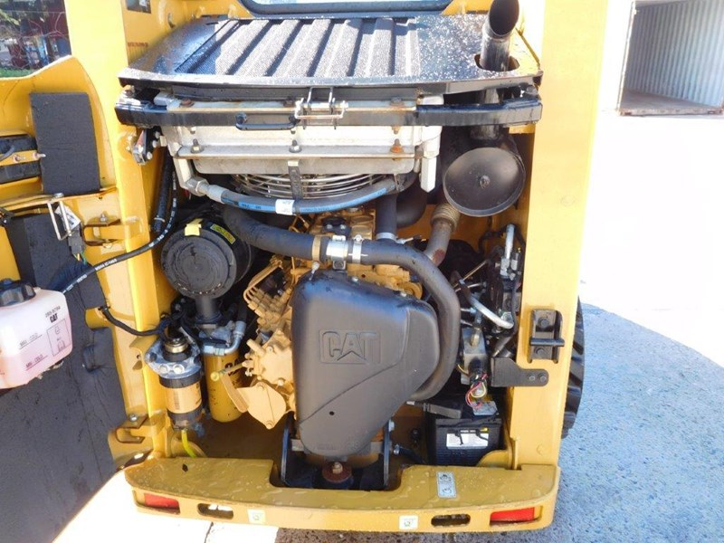 caterpillar #2229 216b.3 cat 216.b3 skid steer loader [47 hp][demo machine with only 172.6 hours] [machcat] 413736 016