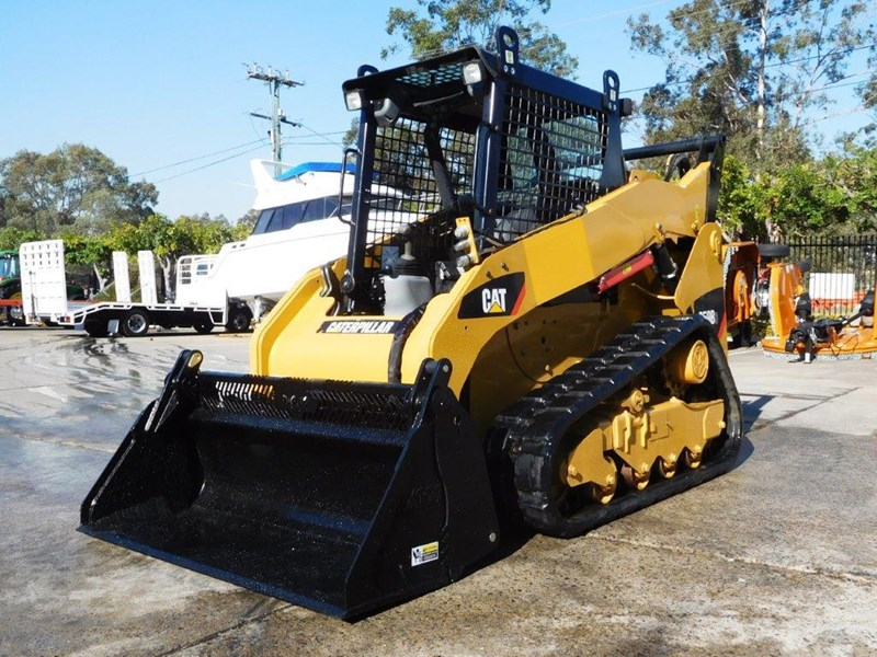 caterpillar #2235b 259.b3 cat 259b.3 compact track loader [74 hp] [only 295 hours] [machcat] 414016 003