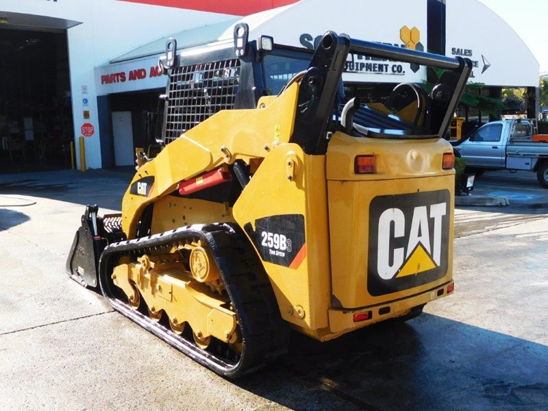 caterpillar #2235b 259.b3 cat 259b.3 compact track loader [74 hp] [only 295 hours] [machcat] 414016 007