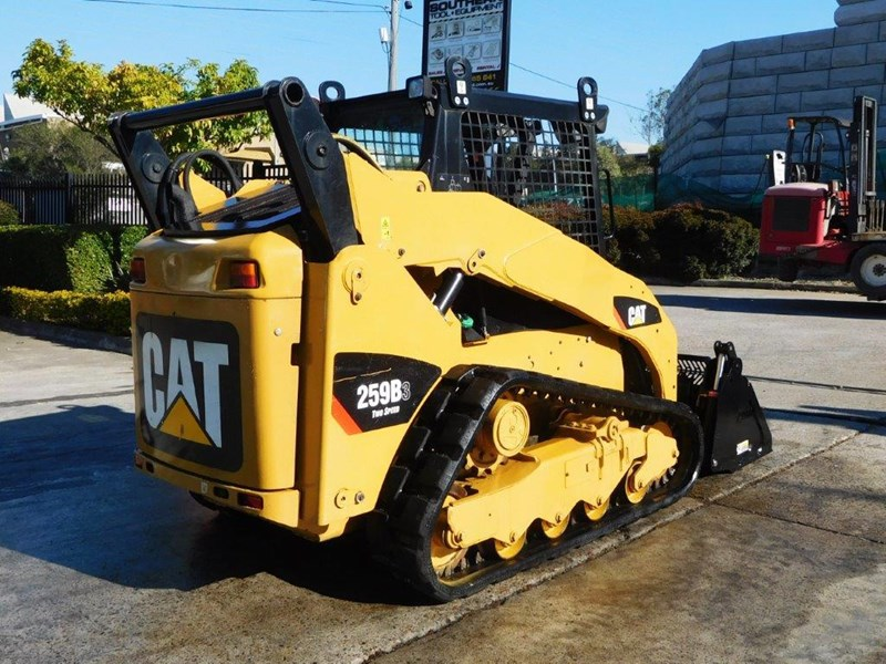 caterpillar #2235b 259.b3 cat 259b.3 compact track loader [74 hp] [only 295 hours] [machcat] 414016 008
