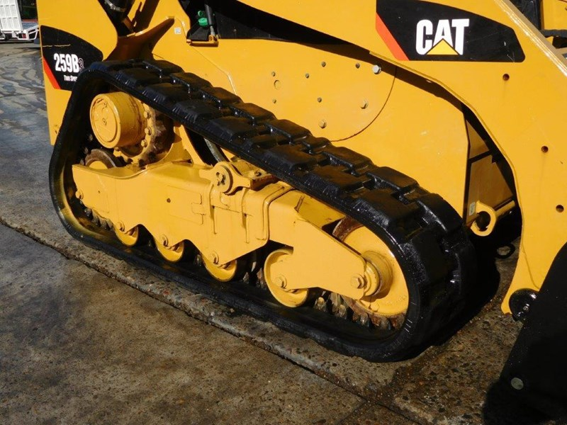 caterpillar #2235b 259.b3 cat 259b.3 compact track loader [74 hp] [only 295 hours] [machcat] 414016 013