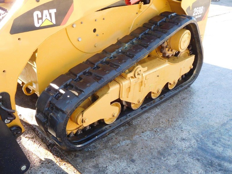 caterpillar #2235b 259.b3 cat 259b.3 compact track loader [74 hp] [only 295 hours] [machcat] 414016 014