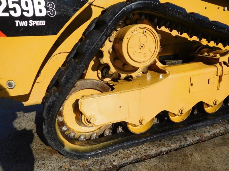 caterpillar #2235b 259.b3 cat 259b.3 compact track loader [74 hp] [only 295 hours] [machcat] 414016 015