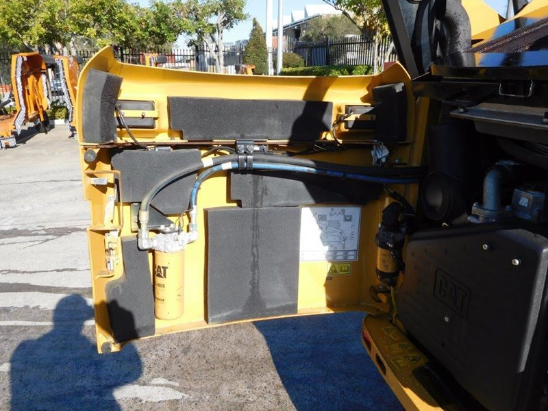 caterpillar #2235b 259.b3 cat 259b.3 compact track loader [74 hp] [only 295 hours] [machcat] 414016 018