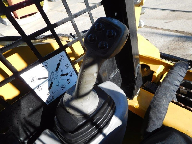 caterpillar #2235b 259.b3 cat 259b.3 compact track loader [74 hp] [only 295 hours] [machcat] 414016 021