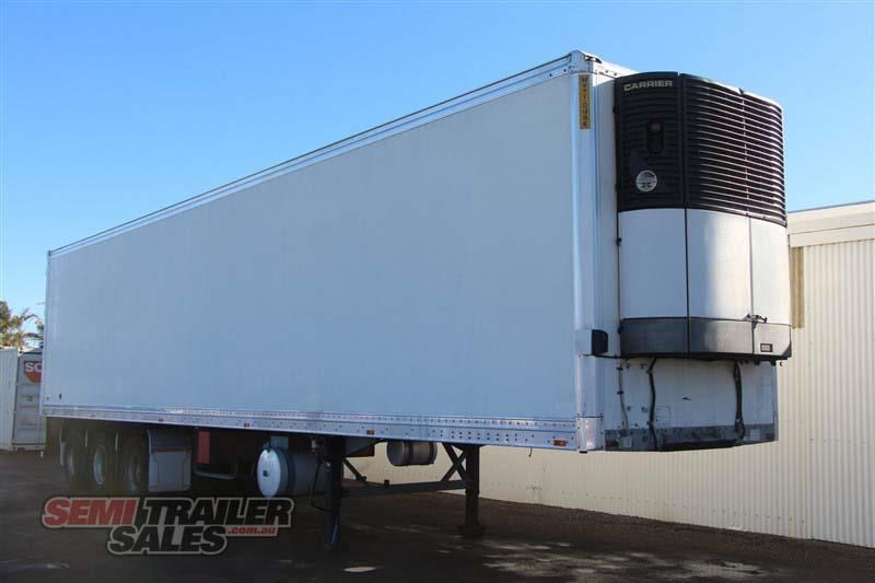 maxitrans 45ft refrigerated pantech semi trailer 414441 002
