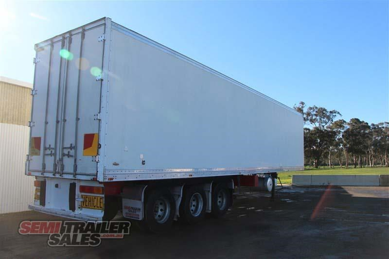 maxitrans 45ft refrigerated pantech semi trailer 414441 003