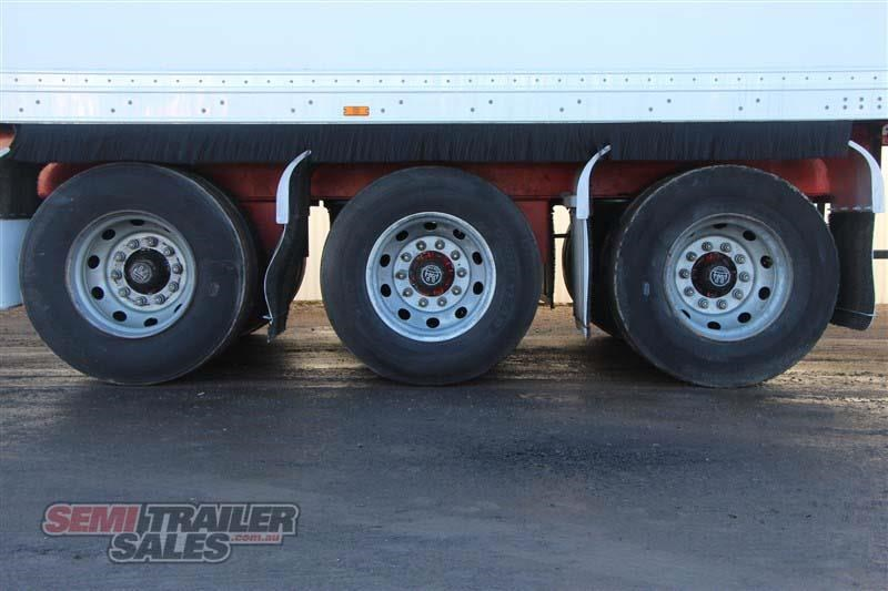 maxitrans 45ft refrigerated pantech semi trailer 414441 008
