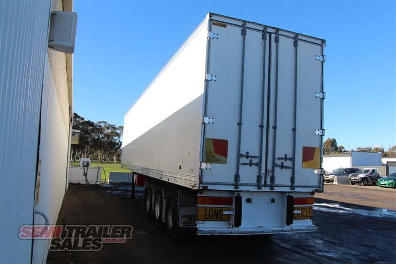 maxitrans 45ft refrigerated pantech semi trailer 414441 015