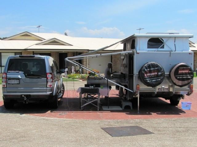 australian off road quantum with heater, bike racks plus much more! 414527 016