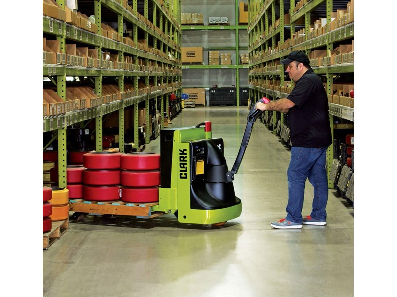 clark wpx45 electric powered pallet truck 414433 002