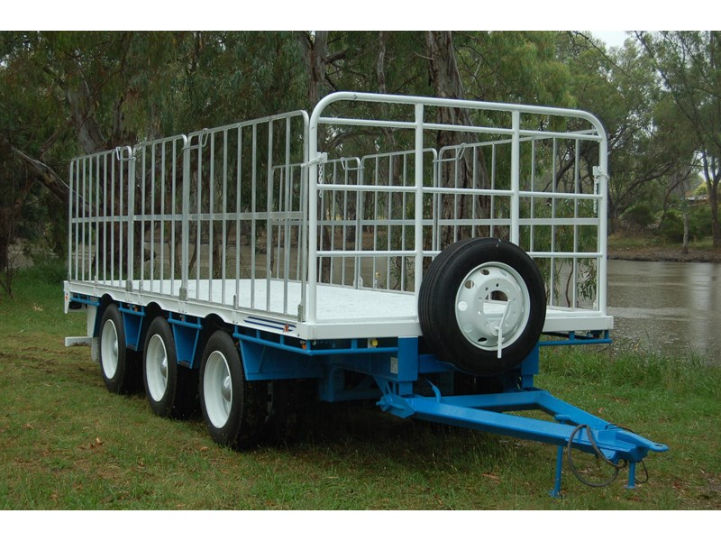 northstar transport equipment tri axle pig trailer 414992 002