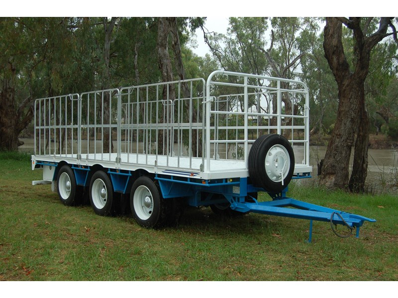 northstar transport equipment tri axle pig trailer 414992 003