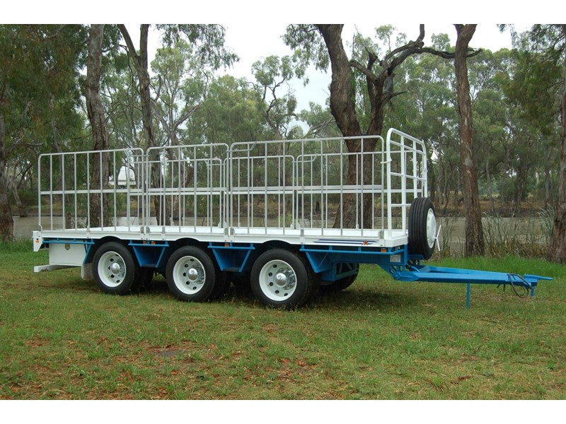 northstar transport equipment tri axle pig trailer 414992 004