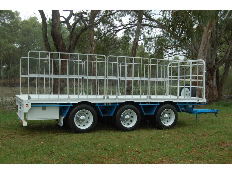 northstar transport equipment tri axle pig trailer 414992 005