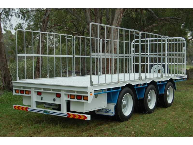 northstar transport equipment tri axle pig trailer 414992 006