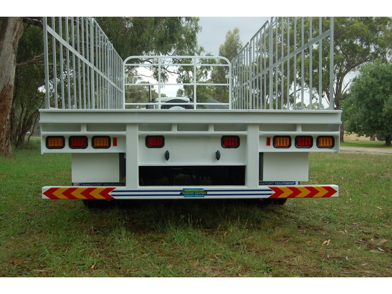 northstar transport equipment tri axle pig trailer 414992 007