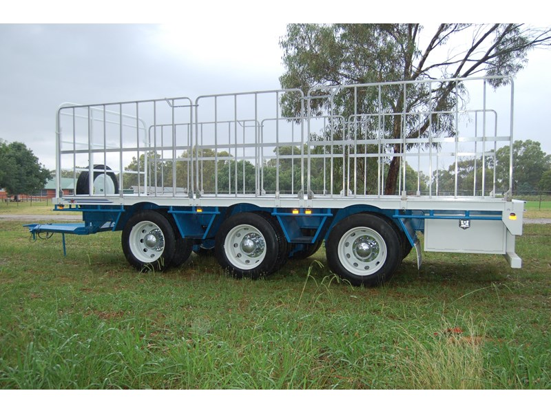 northstar transport equipment tri axle pig trailer 414992 008