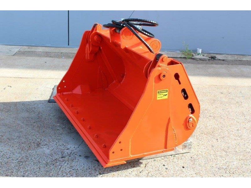 caterpillar 4 in 1 bucket to suit 5 to 8 ton cat case komatsu excavators [1200 mm] [attbuck] 415063 006