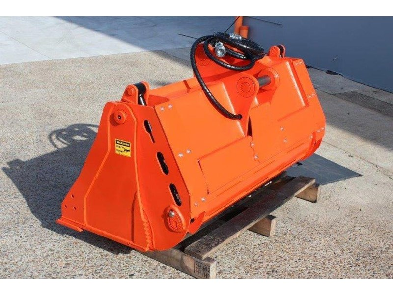 yanmar 4 in 1 bucket to suit 5 to 8 ton kubota bobcat yanmar excavators [1200 mm] [attbuck] 415064 007