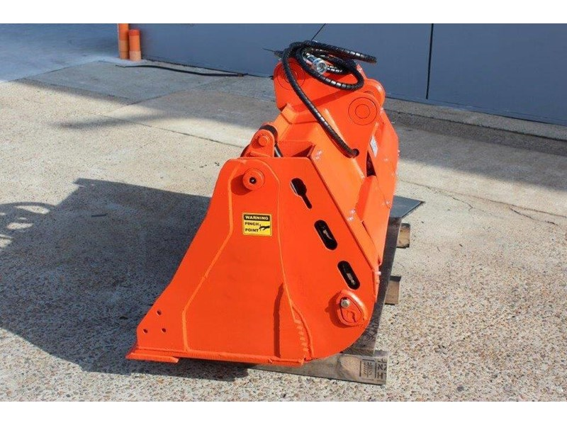 yanmar 4 in 1 bucket to suit 5 to 8 ton kubota bobcat yanmar excavators [1200 mm] [attbuck] 415064 009