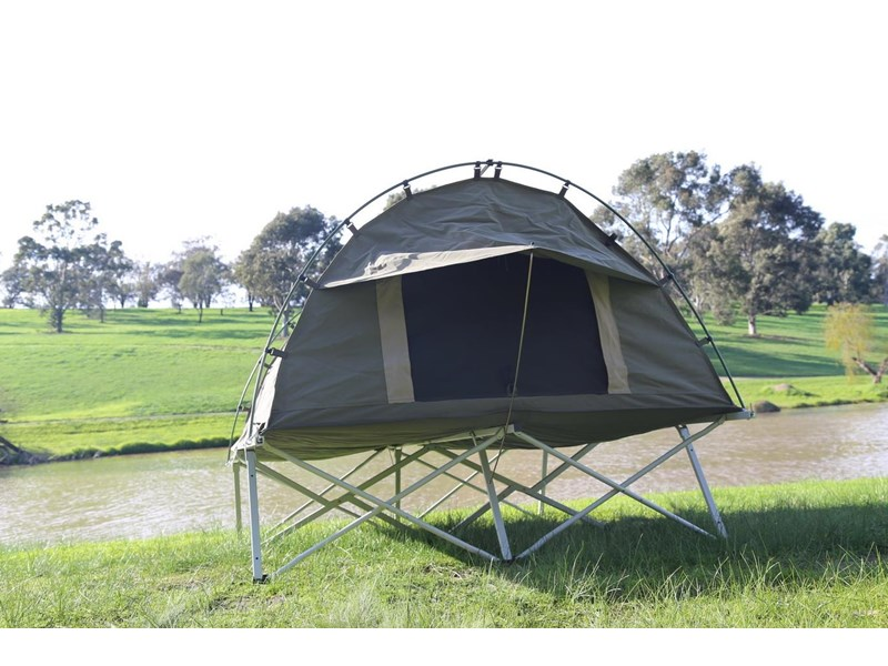 kylin campers homestead twin swag with stretcher 416273 002