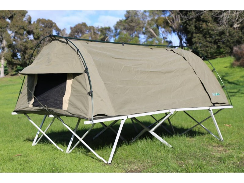 kylin campers homestead twin swag with stretcher 416273 005