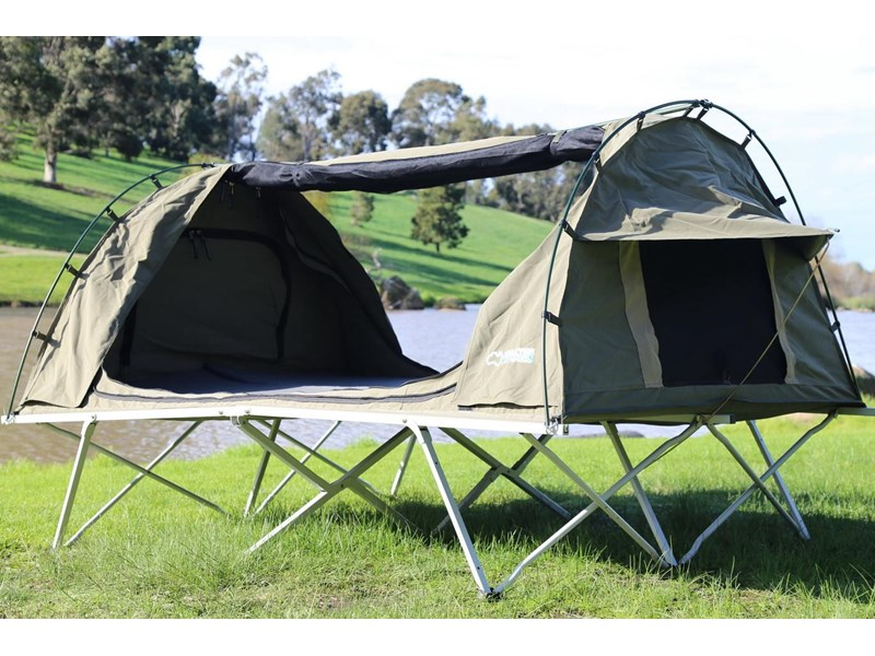 kylin campers homestead twin swag with stretcher 416273 008