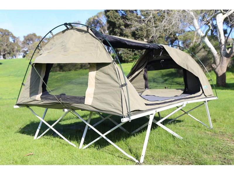 kylin campers homestead twin swag with stretcher 416273 010