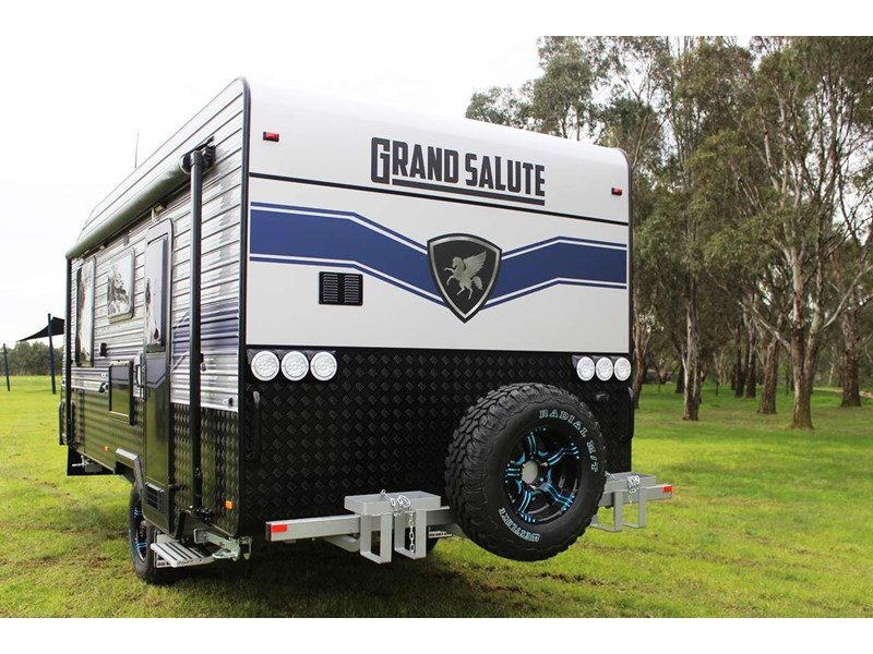 "grand salute duke 18ft 10"" semi off road 417273 006"