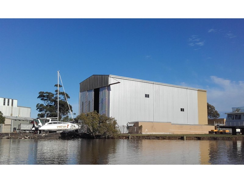 marine industrial waterfront two sheds 417502 001