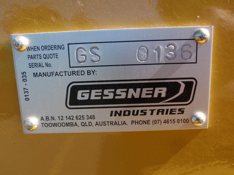 caterpillar new gessner d6h / d6r / d6t ripper grp 53383 010