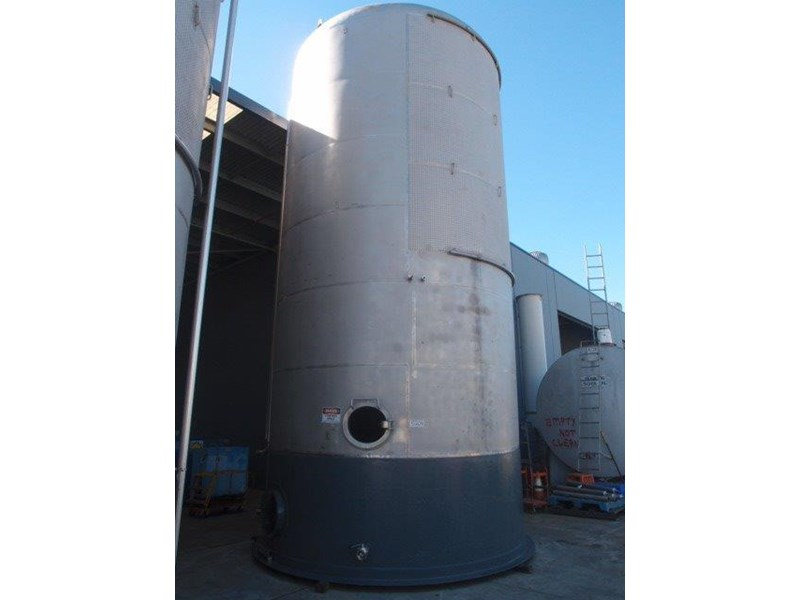 stainless steel jacketed tank 70,000lt 416797 002