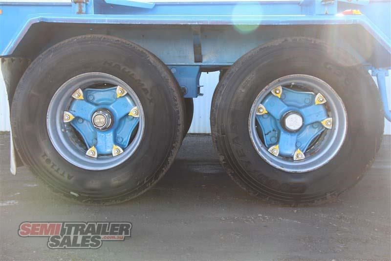 barker 40ft skel semi trailer with 4 way pins 419558 008
