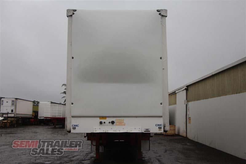 cimc 45ft drop deck curtainsider semi trailer with mezz decks 408769 004