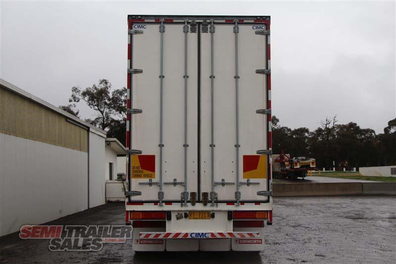 cimc 45ft drop deck curtainsider semi trailer with mezz decks 408769 005