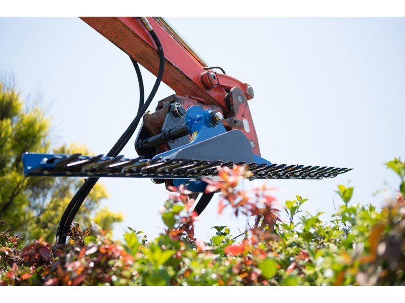 rhino hydraulic hedge trimmers. 2500 mm suit 1.5t to 8.0t excavators [hc250][atttrim] 419971 003