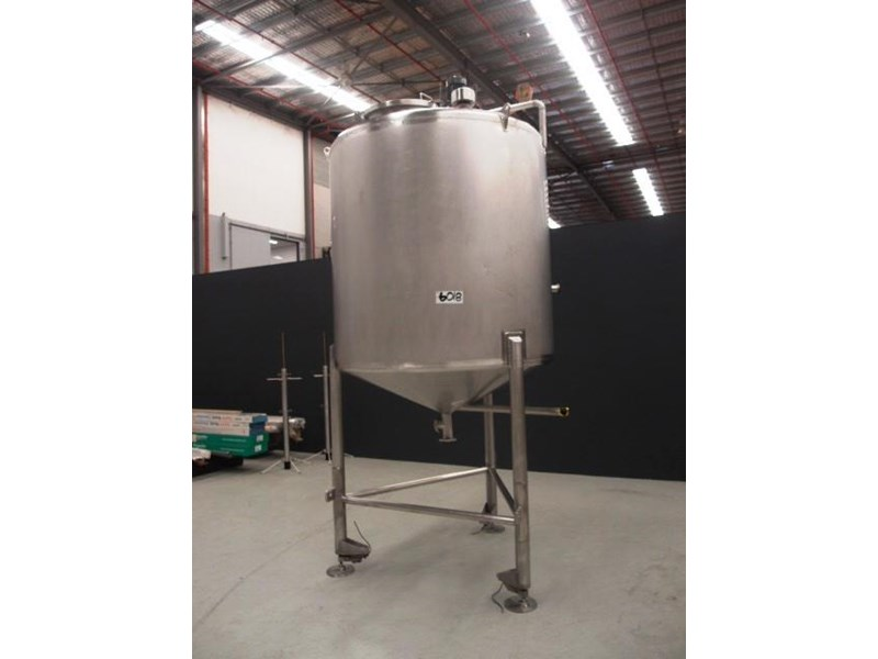 stainless steel mixing tank 3,000lt 419887 001