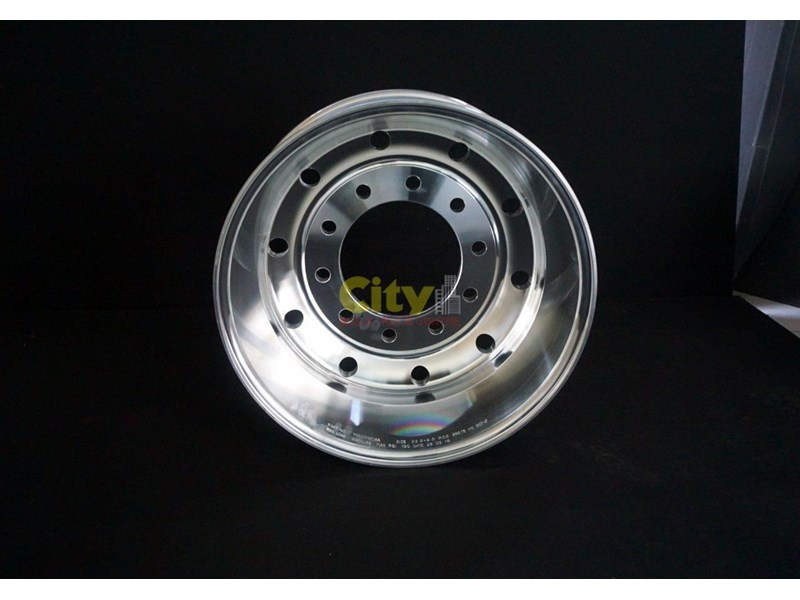 "rims 10/285 9.00x22.5 9"" offset polished alloy 421719 004"