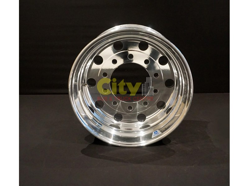 alcoa 12.25x22.5 lvl1 supersingle zero offset alloy wheel 421733 002