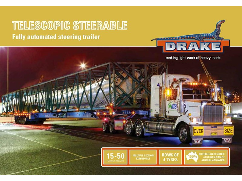 drake telescopic extendable steerable 421825 005