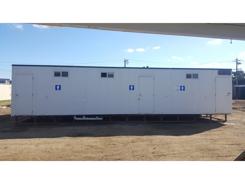 e i group portables as new used 12m x 3m ablution building 422089 001