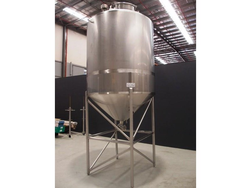 stainless steel mixing tank vertical 419881 001