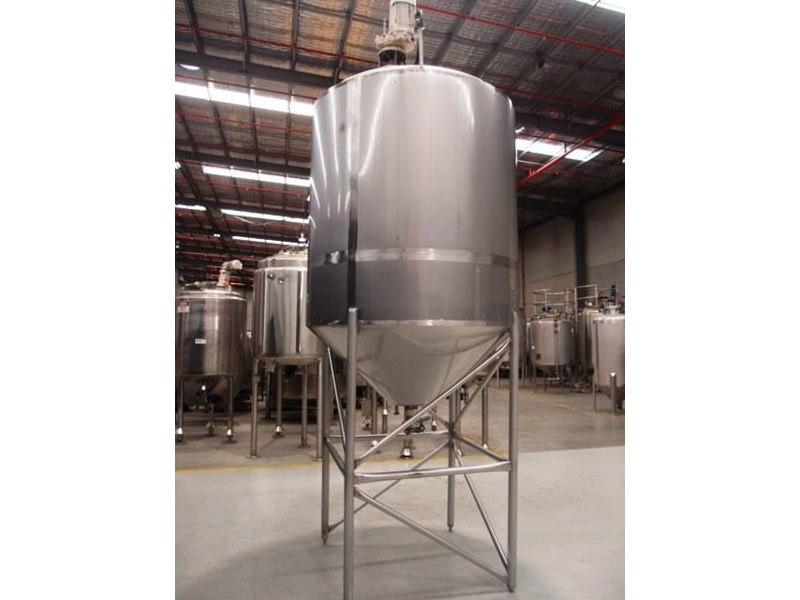 stainless steel mixing tank vertical 419881 002